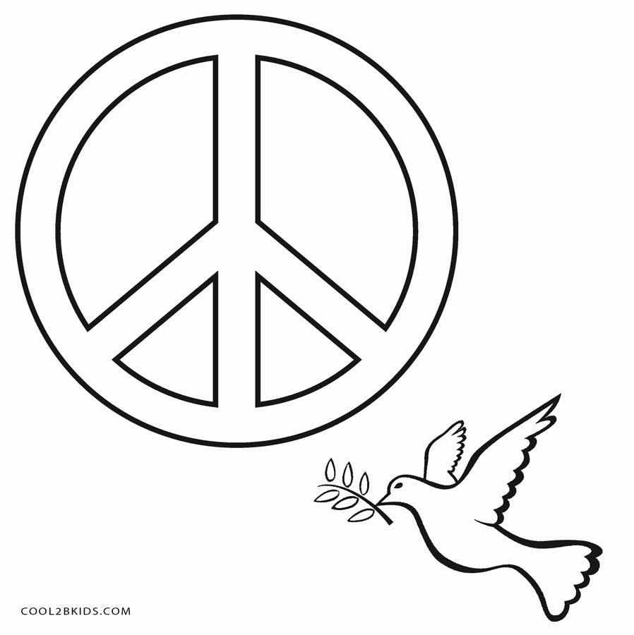 peace sign coloring page heart peace sign coloring pages at getcoloringscom free peace page sign coloring