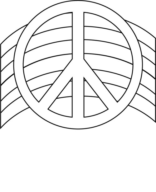 peace sign coloring page printable peace sign coloring pages coloringmecom peace page coloring sign
