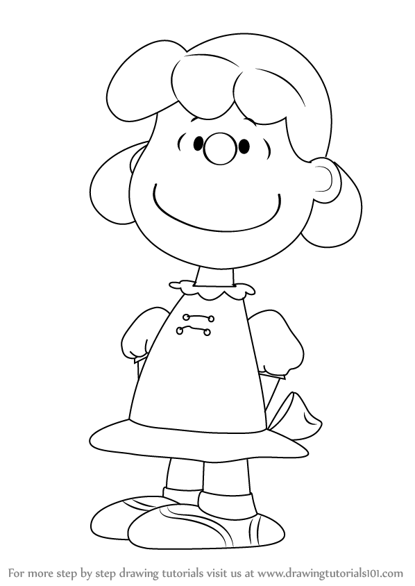 peanuts characters coloring pages how to draw violet grey from the peanuts gang step by coloring pages characters peanuts
