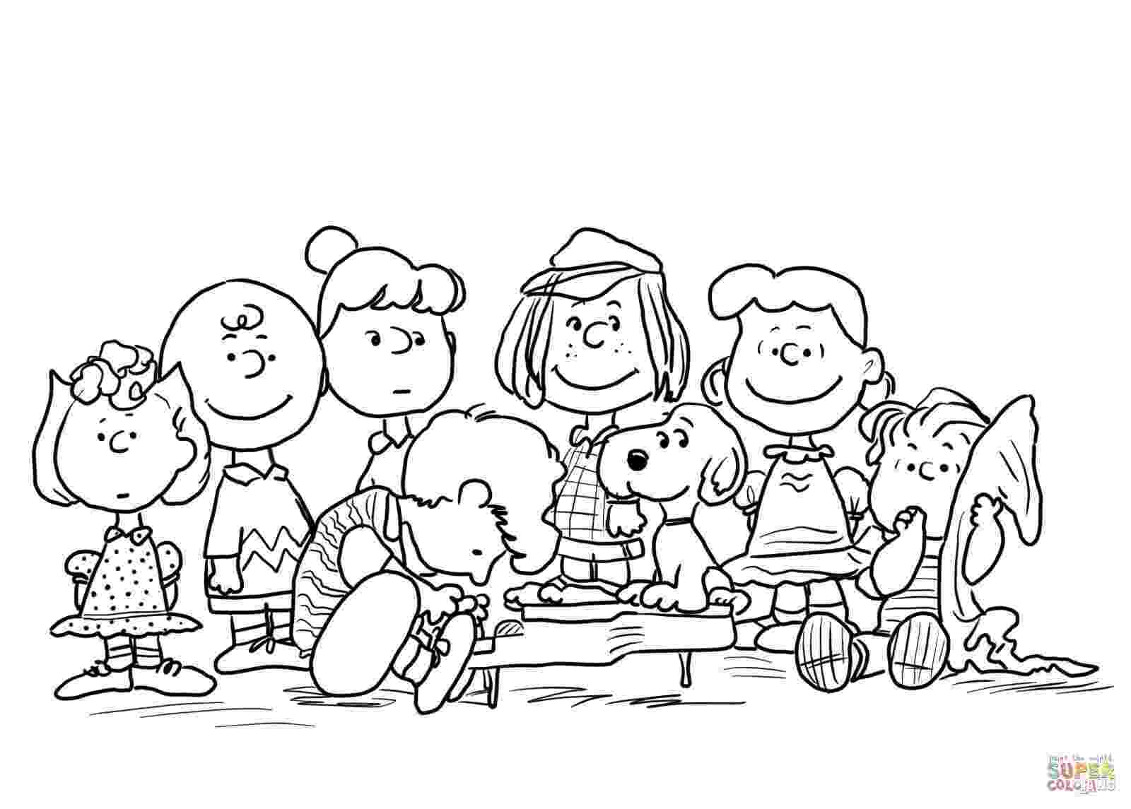 peanuts characters coloring pages linus van pelt peanuts snoopy coloring pages nativity coloring peanuts pages characters
