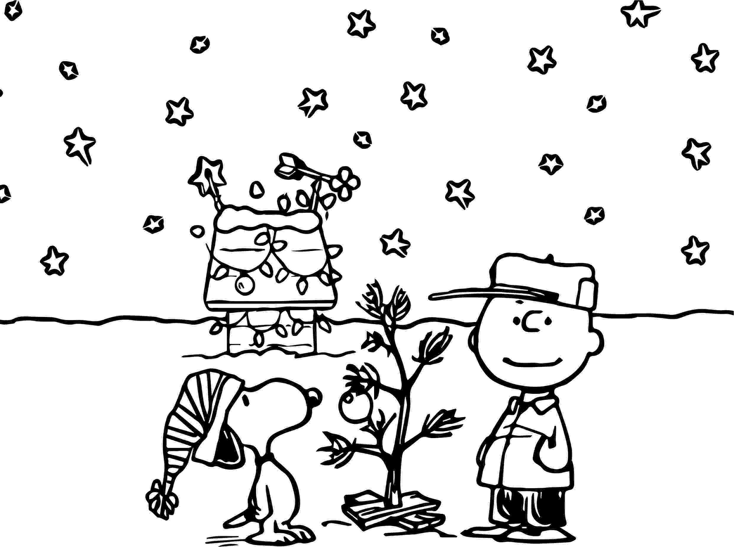 peanuts christmas coloring pages 35 best snoopy images on pinterest coloring pictures for coloring christmas pages peanuts