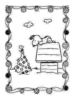 peanuts christmas coloring pages charlie brown christmas tree coloring page with snoopy pages peanuts christmas coloring
