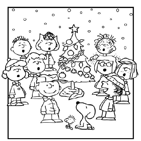 peanuts christmas coloring pages christmas coloring pages charlie brown christmas christmas pages peanuts coloring