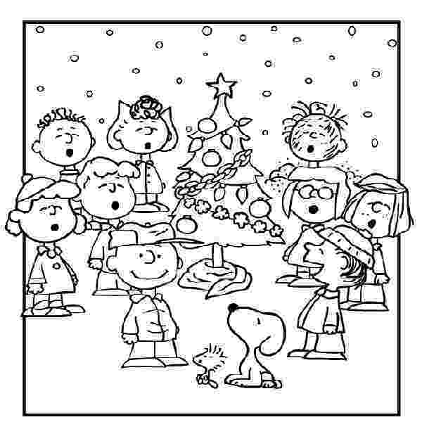 peanuts christmas coloring pages free printable charlie brown christmas coloring pages for pages coloring peanuts christmas