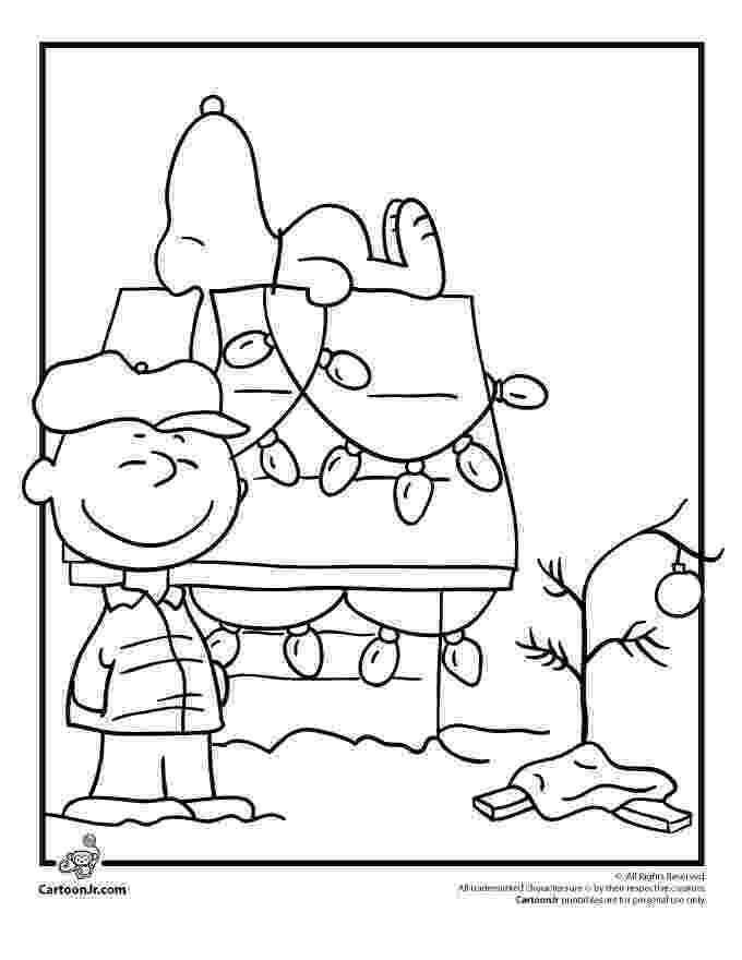 peanuts christmas coloring pages printable snoopy coloring pages for kids cool2bkids peanuts pages christmas coloring