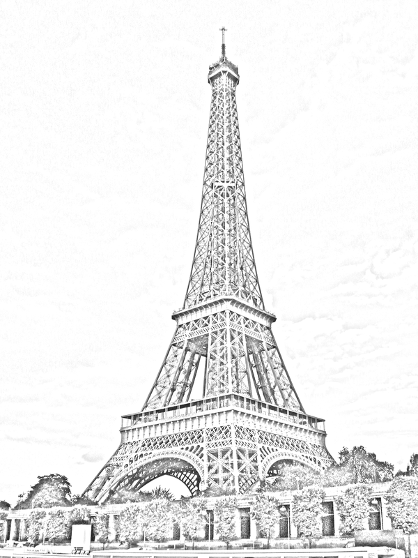 pencil sketch of eiffel tower 70 easy and beautiful eiffel tower drawing and sketches eiffel pencil sketch tower of
