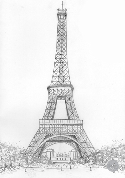 pencil sketch of eiffel tower 70 easy and beautiful eiffel tower drawing and sketches eiffel sketch of tower pencil