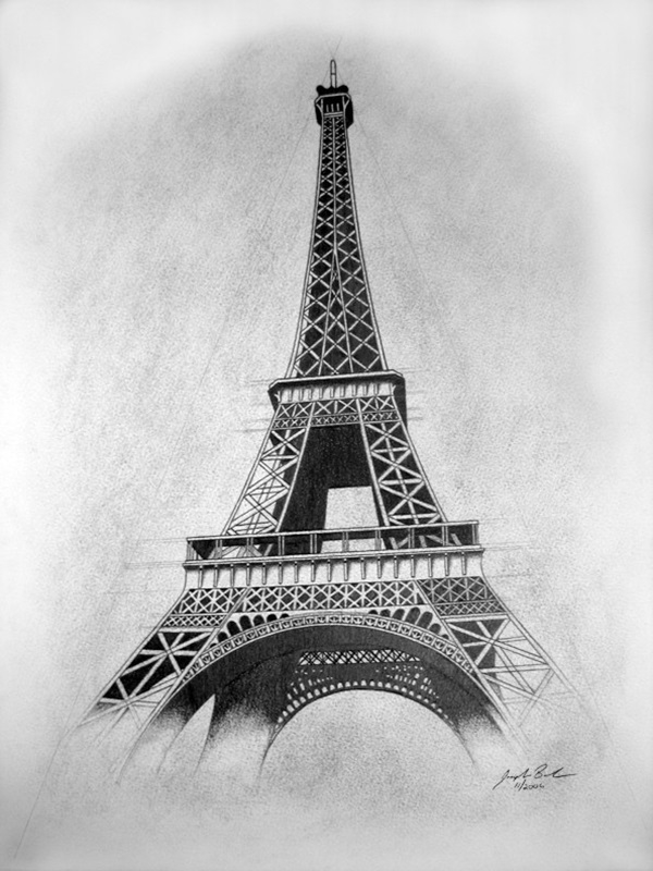 pencil sketch of eiffel tower 70 easy and beautiful eiffel tower drawing and sketches of sketch pencil eiffel tower