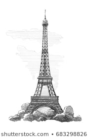 pencil sketch of eiffel tower american mom in bordeaux the magnificent eiffel tower of sketch tower eiffel pencil