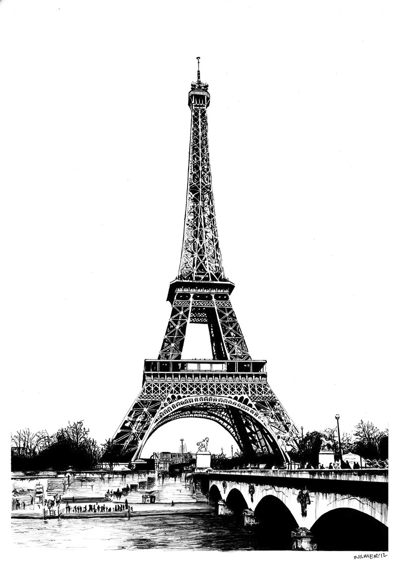 pencil sketch of eiffel tower eiffel tower drawing by sweetpeapirate on deviantart pencil eiffel sketch tower of