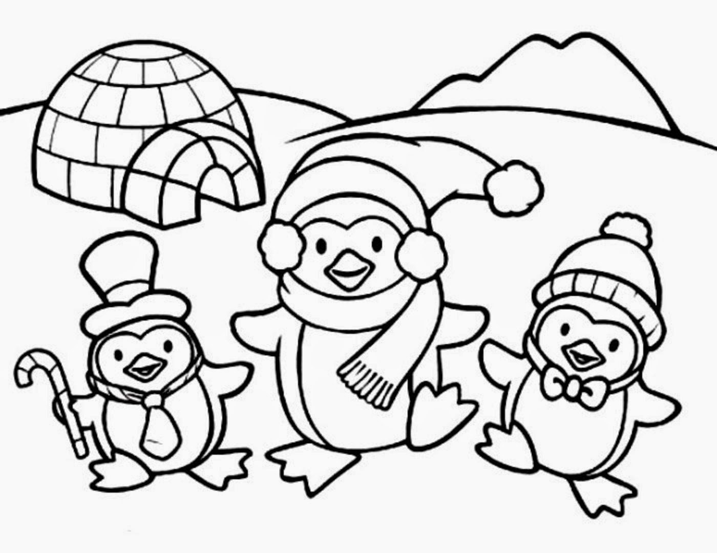 penguin colouring sheet printable penguin coloring pages for kids cool2bkids penguin sheet colouring