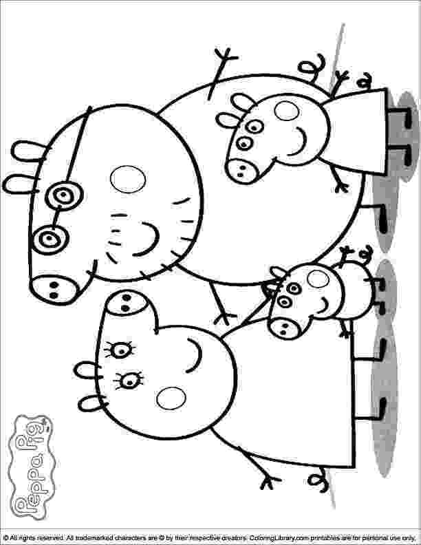 peppa pig colouring pictures to print 20 best images about peppa pig on pinterest to colouring peppa pig print pictures