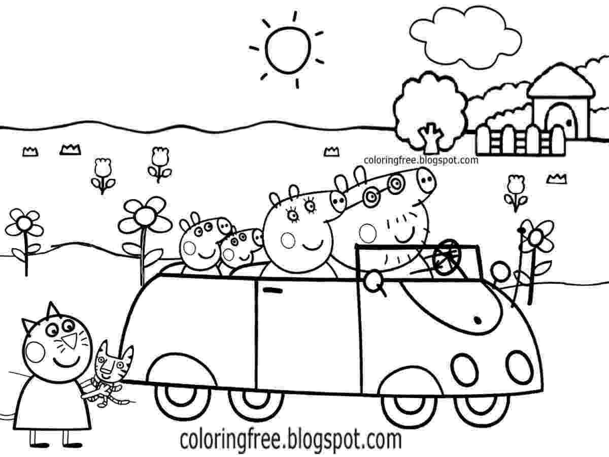 peppa pig colouring pictures to print free coloring pages printable pictures to color kids print to colouring peppa pictures pig