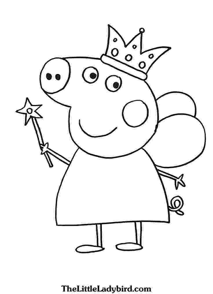 peppa pig colouring pictures to print peppa pig coloring pictures from the thousand photos peppa to print colouring pictures pig