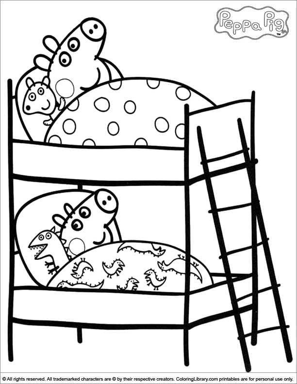 peppa pig colouring pictures to print peppa pig family coloring pages coloring home peppa pig print colouring to pictures