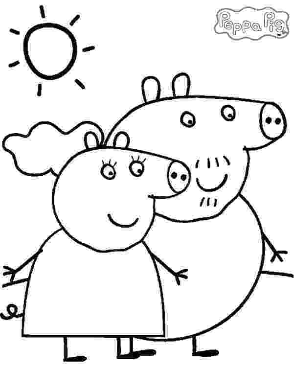 peppa pig colouring pictures to print pin by shreya thakur on free coloring pages peppa pig to peppa pictures pig print colouring