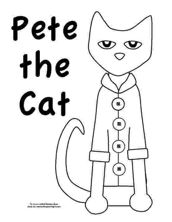 pete the cat coloring page free printable cat coloring pages for kids cool2bkids cat page pete the coloring