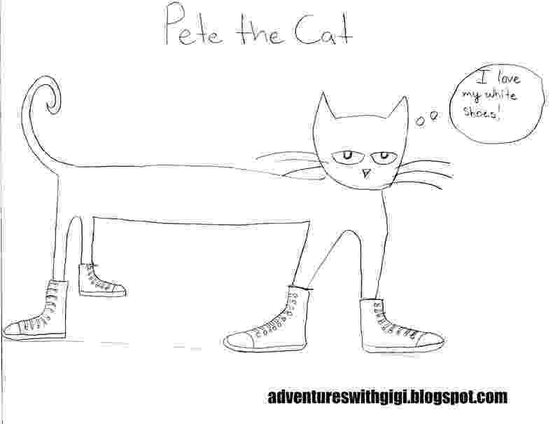 pete the cat coloring page pete the cat and his four groovy buttons coloring page the page cat pete coloring