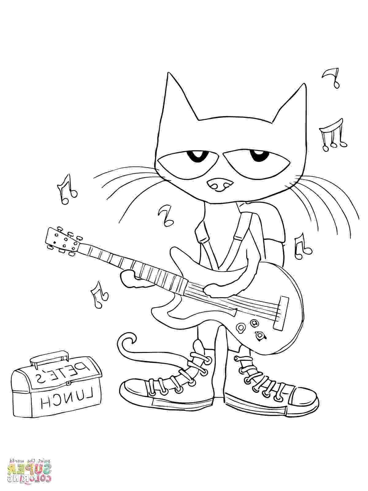 pete the cat coloring page pete the cat coloring pages by kristen coughlan tpt page the coloring pete cat