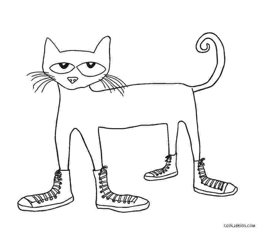 pete the cat coloring page pete the cat i love my white shoes coloring page free cat page pete the coloring