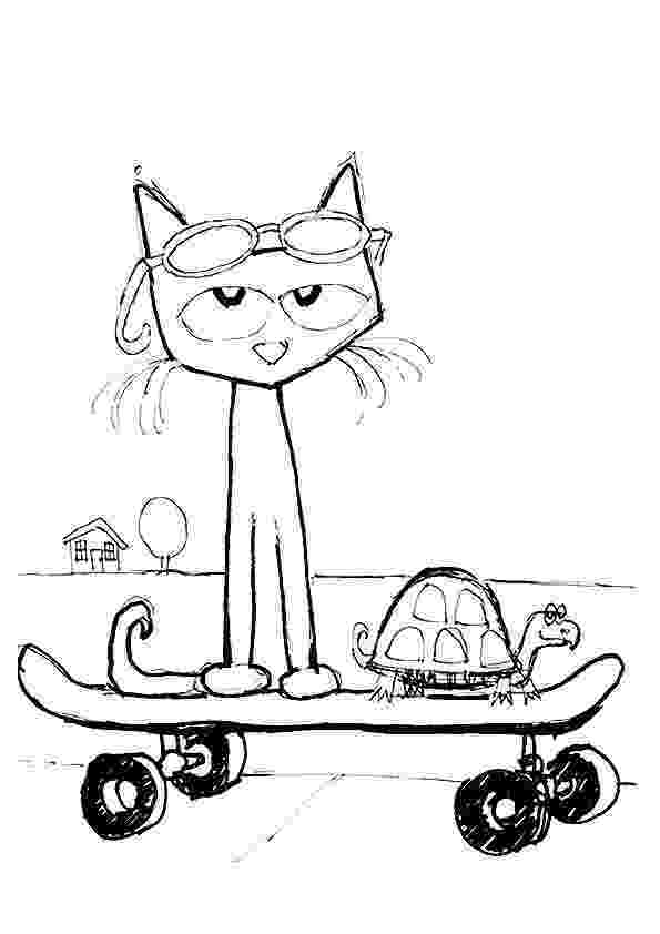 pete the cat coloring page pinterest the worlds catalog of ideas page coloring the cat pete