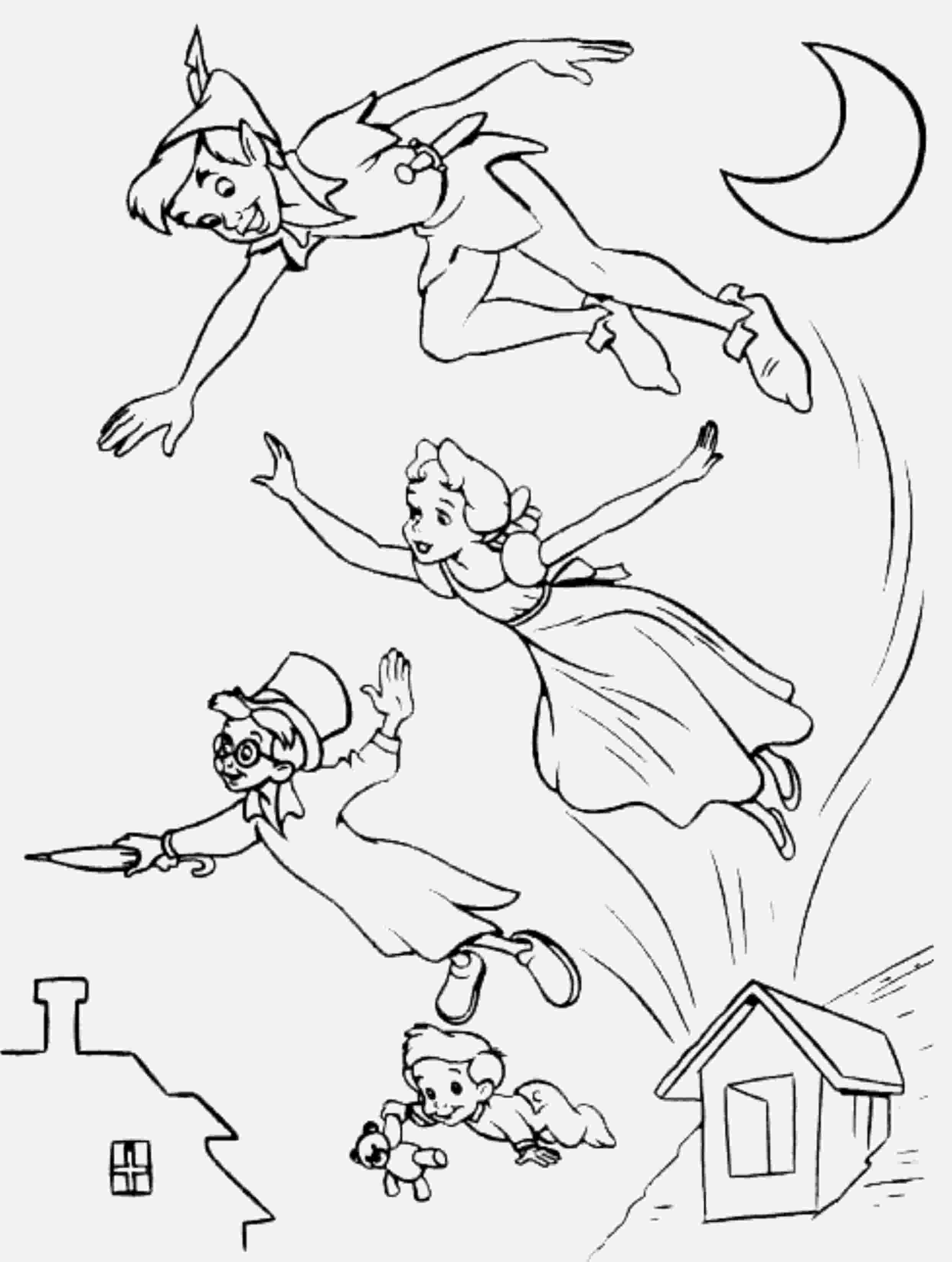 peter pan coloring pages 1000 images about peter pan disegni da colorare on pinterest pan coloring peter pages