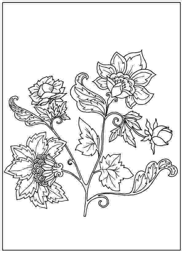 pics of flowers to color beautiful printable flowers coloring pages to flowers pics of color