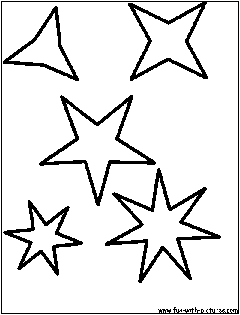 picture of a star to color simple activities shapes star to a picture color of