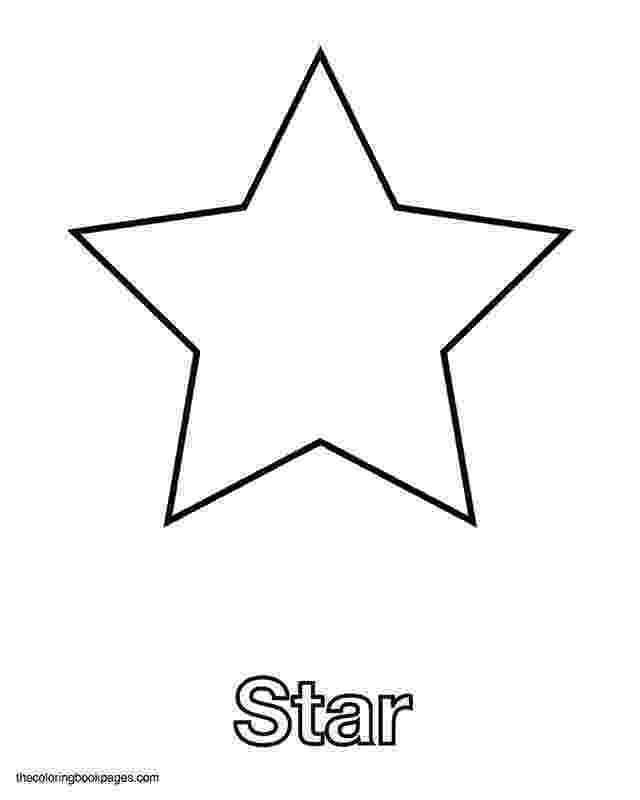 picture of a star to color star coloring pages for kindergarten coloringstar color star to picture of a