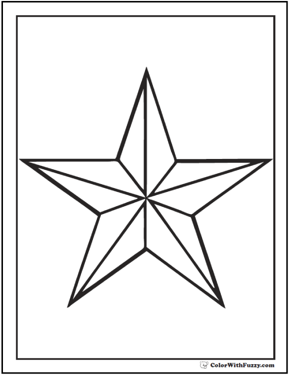 picture of a star to color stars coloring pages color picture star a to of