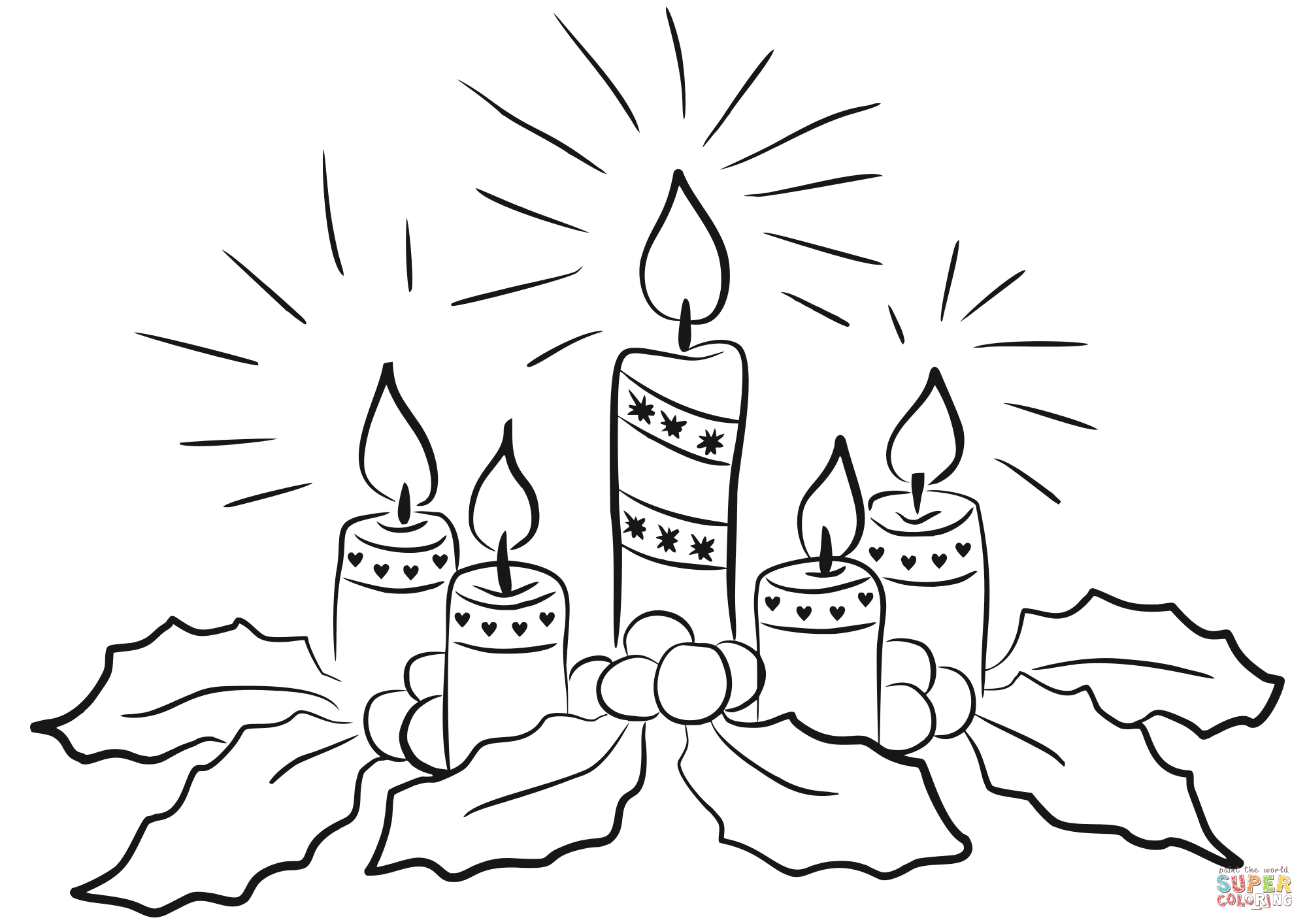 picture of advent wreath for coloring advent coloring pages sketch coloring page for advent coloring picture wreath of