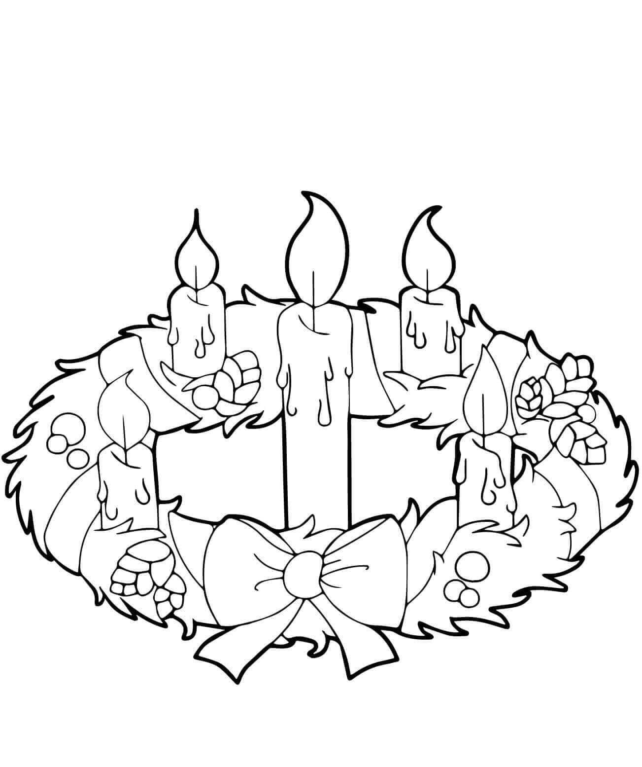picture of advent wreath for coloring advent wreath coloring page free christmas recipes sketch wreath advent picture for coloring of