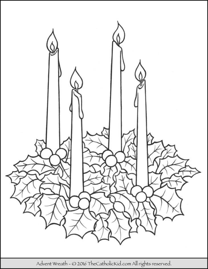 picture of advent wreath for coloring advent wreath printable coloring pages get coloring pages advent wreath picture of for coloring