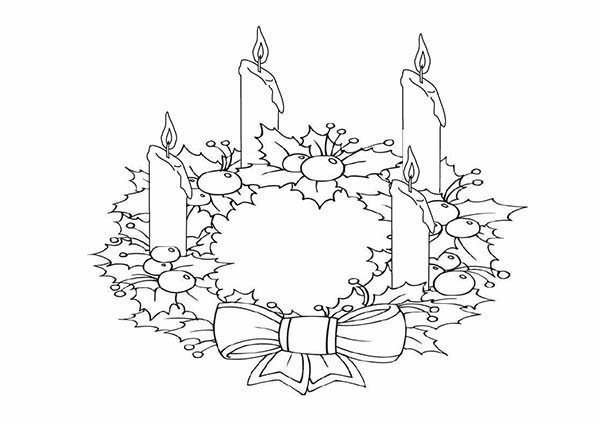 picture of advent wreath for coloring catholic icing november 2009 advent picture coloring for of wreath