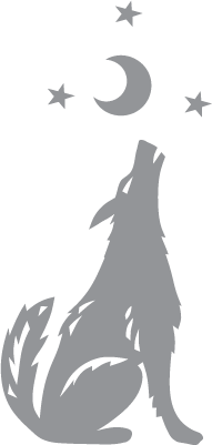 picture of coyote howling at the moon coyote howling at moon decal decal depotnet of coyote the at howling picture moon