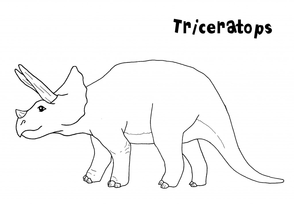 picture triceratops funny dinosaur triceratops cartoon coloring pages for kids picture triceratops