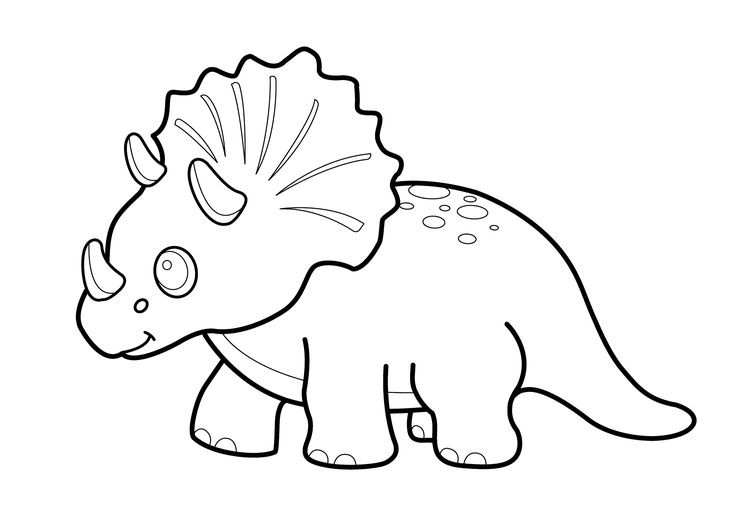 picture triceratops realistic dinosaur coloring pages dinosaurs pictures and triceratops picture