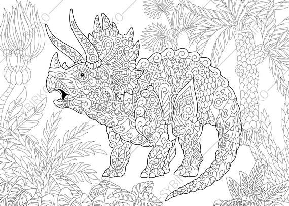 picture triceratops triceratops dinosaur dino coloring pages animal coloring picture triceratops