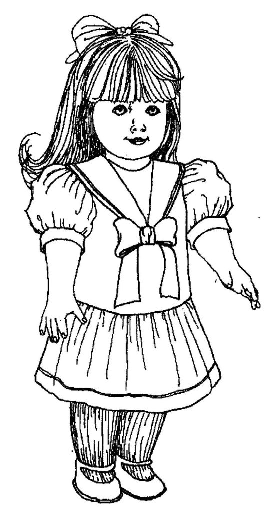 pictures of american girl dolls to color american doll caroline coloring pages sketch coloring page dolls girl color american to pictures of