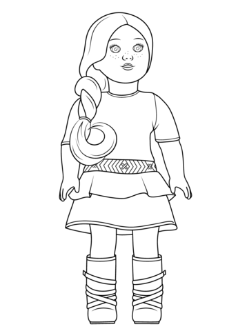 pictures of american girl dolls to color american girl coloring pages beforever pictures of dolls girl to color american