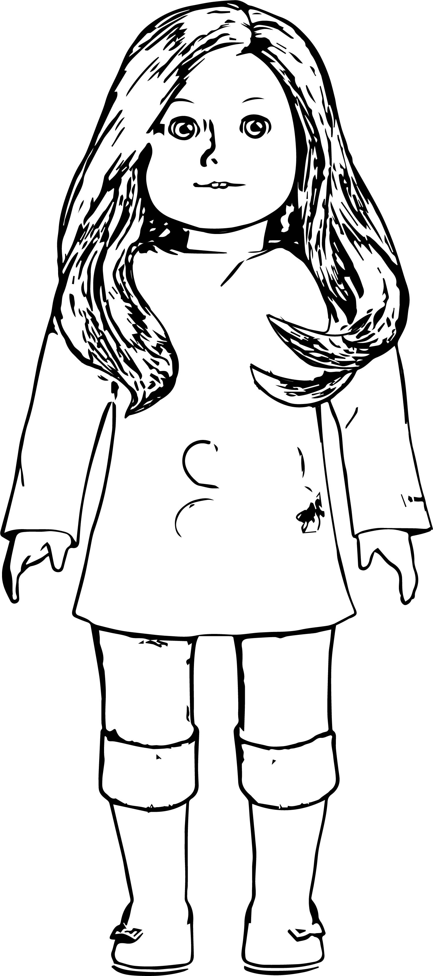pictures of american girl dolls to color american girl coloring pages best coloring pages for kids girl american dolls of pictures color to