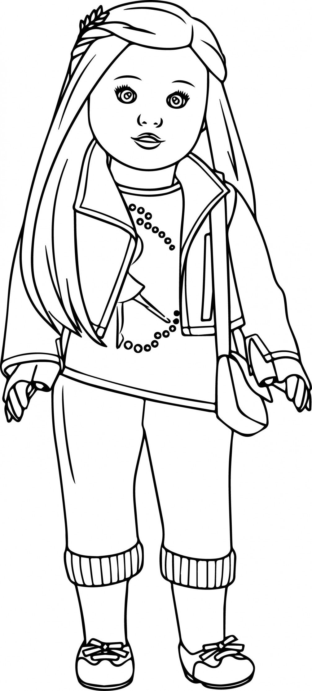 pictures of american girl dolls to color american girl coloring pages best coloring pages for kids girl of to color pictures american dolls
