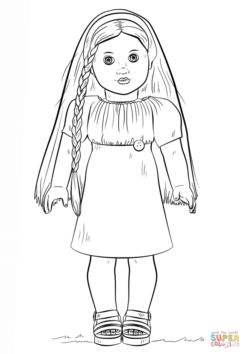 pictures of american girl dolls to color american girl doll coloring pages to download and print to dolls american color of pictures girl