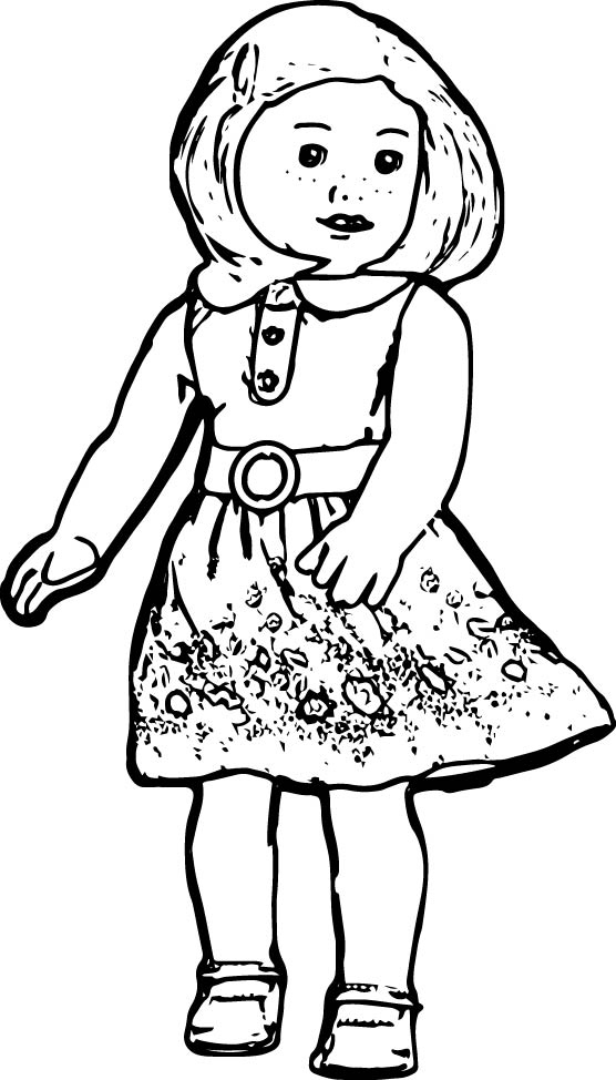 pictures of american girl dolls to color american girl doll julie coloring page free printable american to pictures dolls color girl of