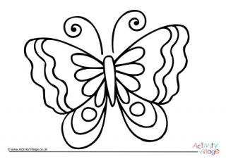 pictures of butterflies to color butterfly colouring pages color to pictures of butterflies