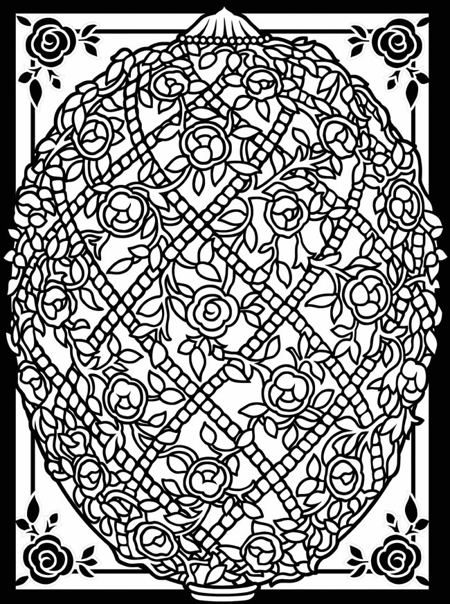 pictures of easter eggs design coloring pages free download best design coloring eggs of easter pictures