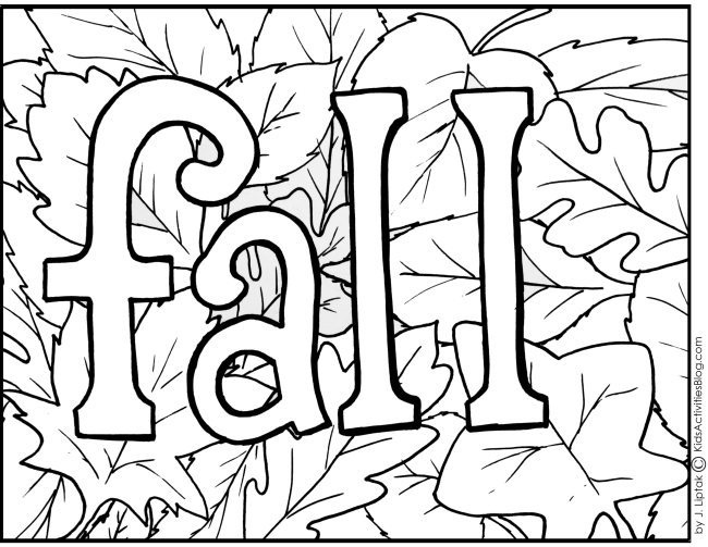 pictures of fall leaves to color alisaburke a fall coloring page for you pictures to leaves fall color of