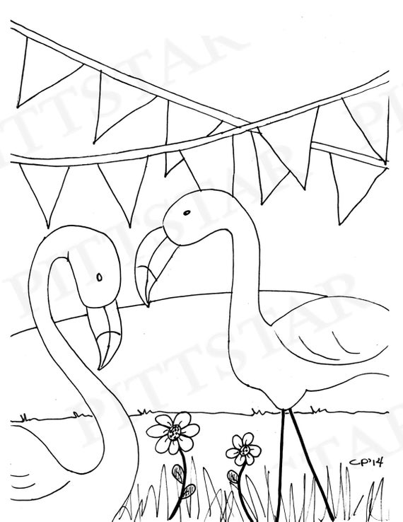 pictures of flamingos to print instant download flamingos printable adult coloring page pictures flamingos print of to
