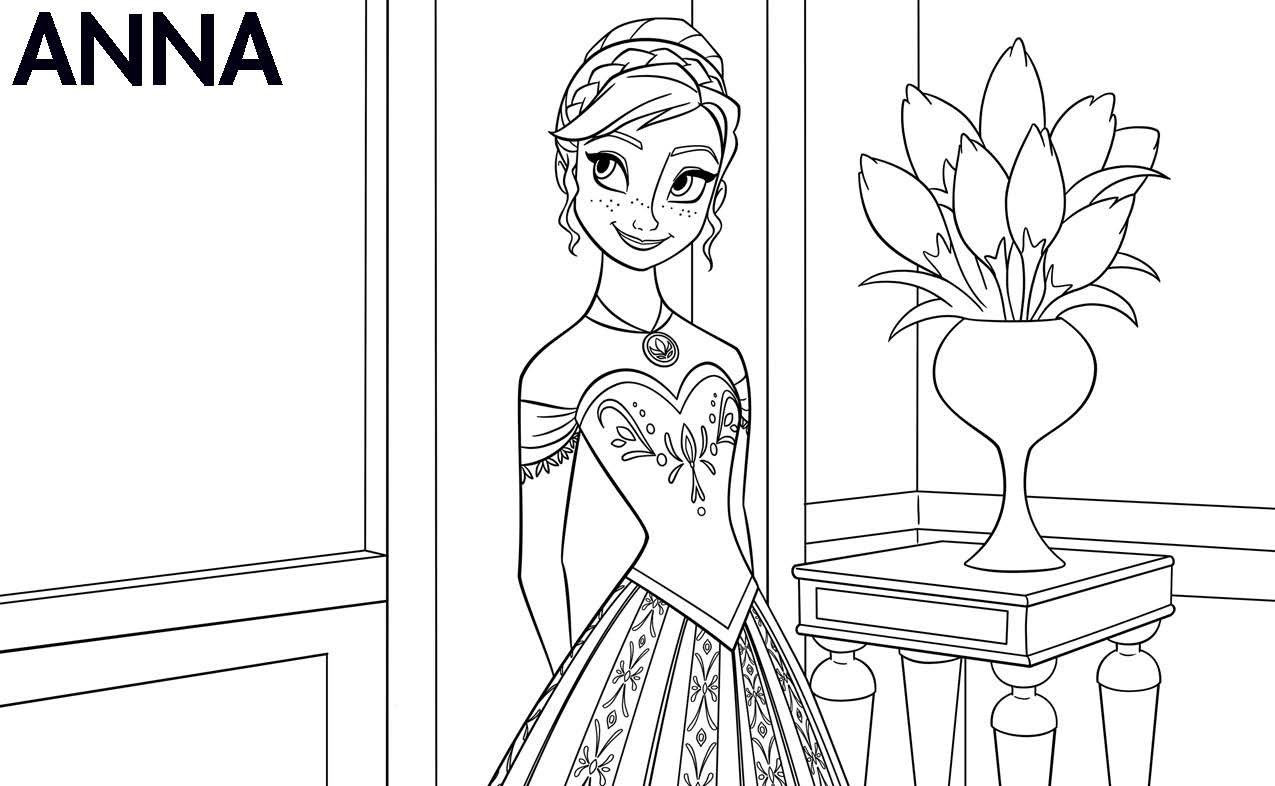 pictures of frozen to color 12 free printable disney frozen coloring pages anna to pictures frozen of color