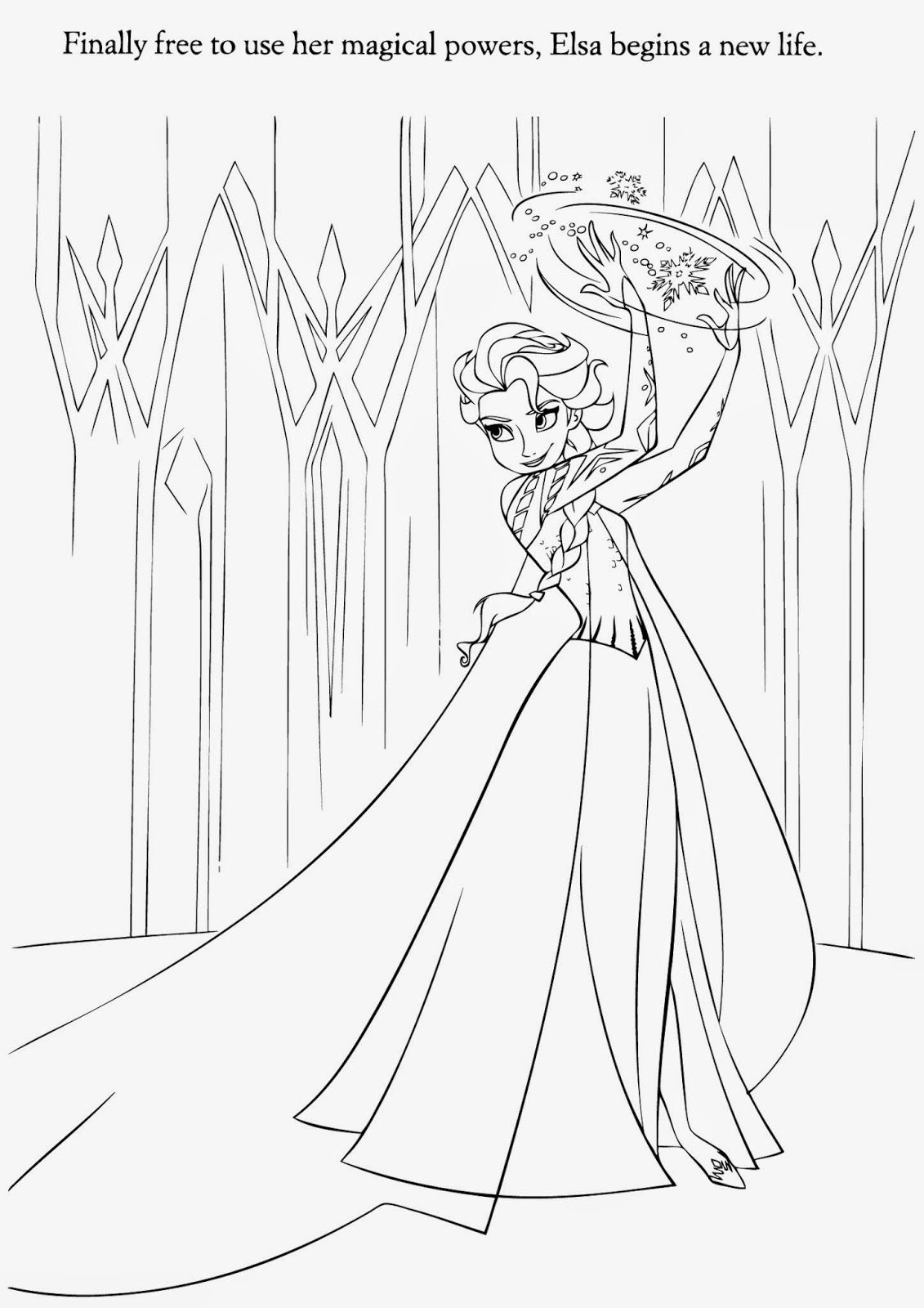 pictures of frozen to color frozen coloring pages getcoloringpagescom to frozen pictures color of